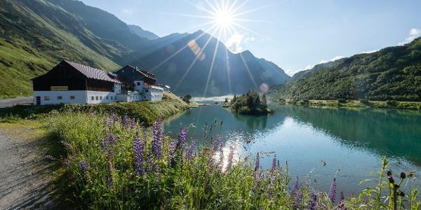 Zeinisjoch (c) Lucas Tiefenthaler / Vorarlberg Tourismus