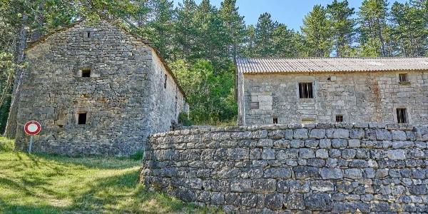Village abandonné de La Chamette