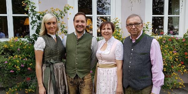 Berggasthof König, Familie König