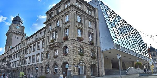 Tourist-Information Plauen im Neuen Rathaus
