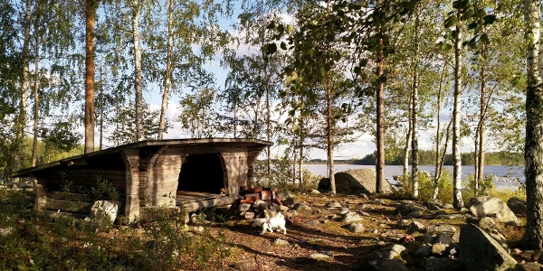 Saparoniemen laavu, Hongisto - Saparoniemi kohdereitti, Toholampi