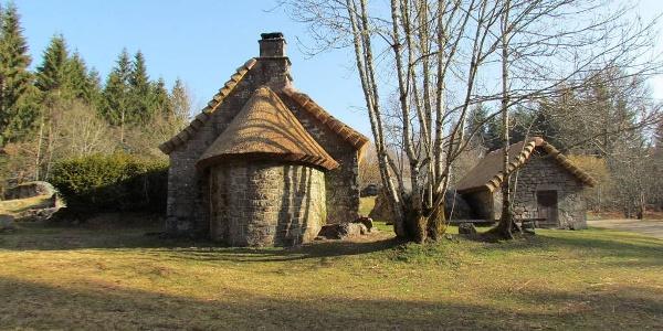 Le village restauré de Clédat