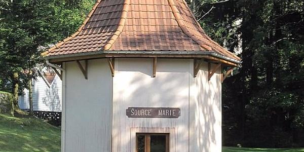 Kiosque de la Source Marie