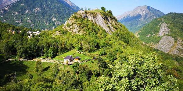 Vtt en Pyrénées Ariègeoises, station de ski du Goulier