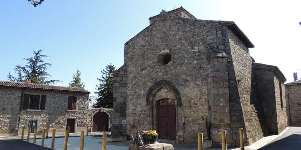 Chapelle romane - Vieux Bourg - Montagny
