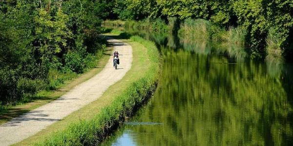 Voie verte le long du Canal de Garonne