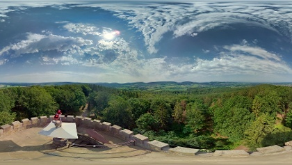 Idaturm, Panorama
