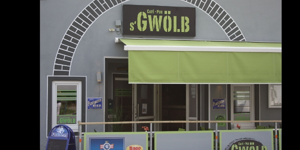 Cafe-Pub s'Gwölb: Aussenansicht