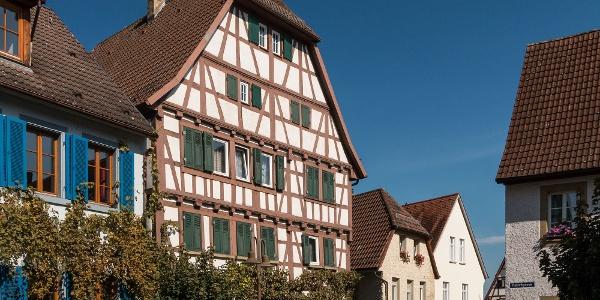 Leiningen´sches Schlössle, Kirchgasse in Eppingen