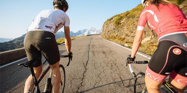 Con la bici al Passo Rombo