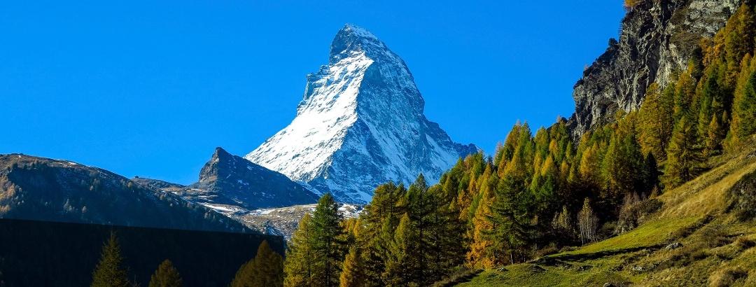 Matterhorn bei Zermatt.
