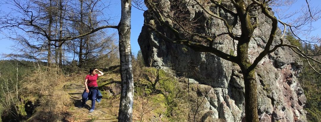 Rundwanderweg - Drei Hüttentour - Koppensteine - Steinbach-Hallenberg - Thüringer Wald