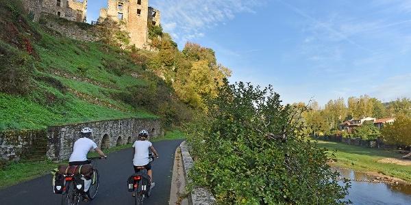 Véloroute de la Vallée et des Gorges de l'Aveyron - Laguépie
