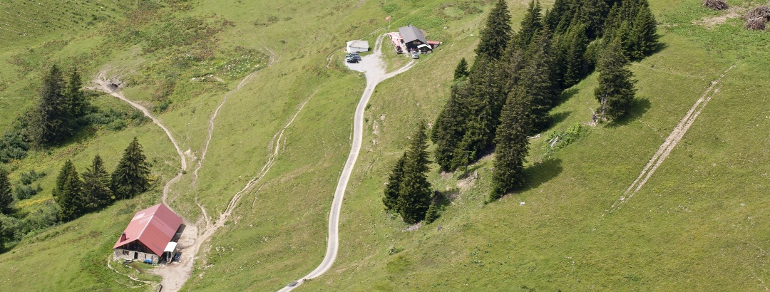 Die Alpwirtschaft « La Bourri»