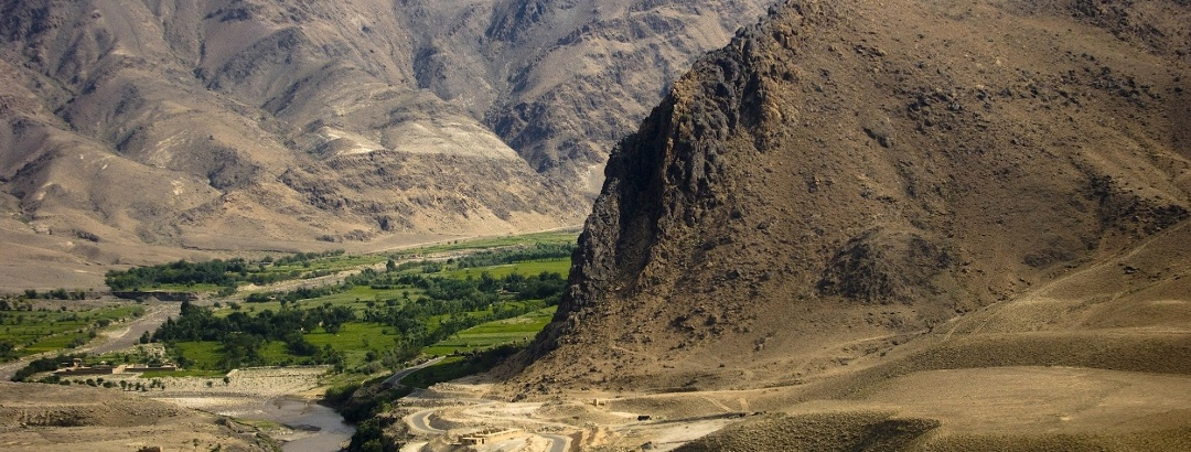 Landscape in Afghanistan