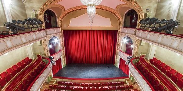 Zuschauerraum Vogtlandtheater Plauen