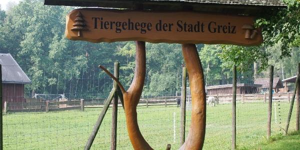 Tiergehege der Stadt Greiz am Waldhaus