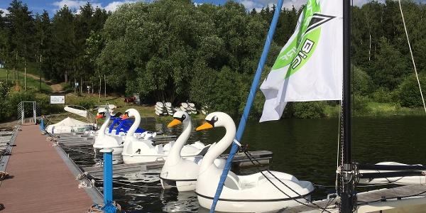 Wassersportschule - Bootsverleih an der Talsperre Zeulenroda