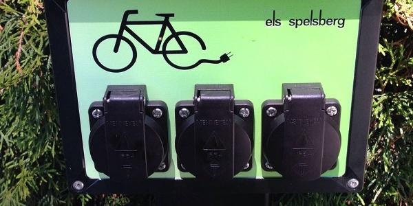 E-Bike-Ladestation am Teichhaus Burkhardtsdorf