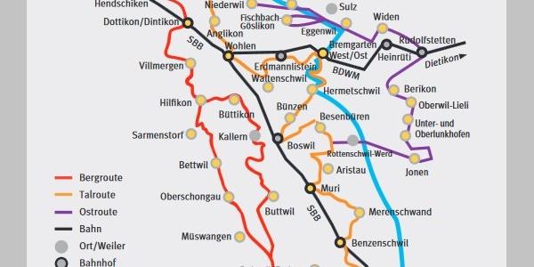 Freiämterweg_Übersichtskarte