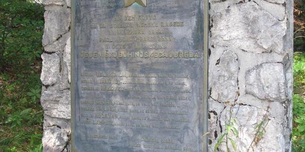 Monument to 1944 Partizans