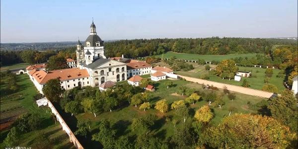 Kaunas: Pažaislio vienuolynas. Pazaislis Monastery (Lithuania)