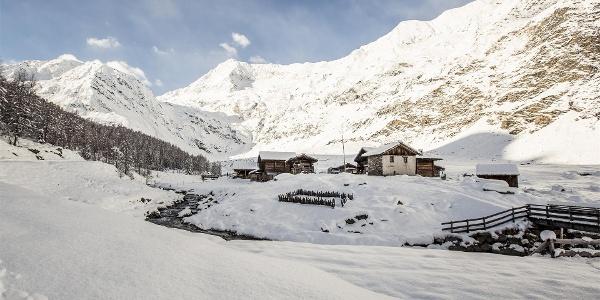 Winterwanderung von Pfelders ins Lazinsertal