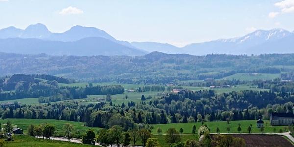 Aussicht vom Irschenberg