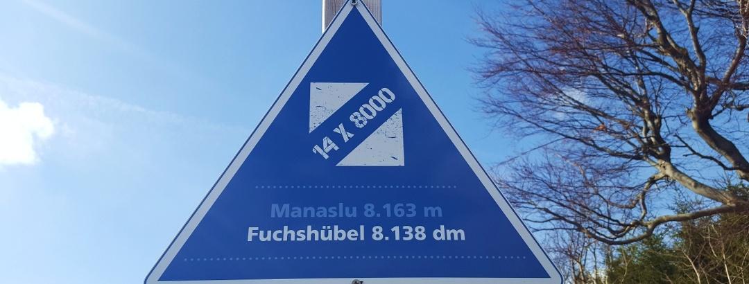 14 Achttausender im Osterzgebirge