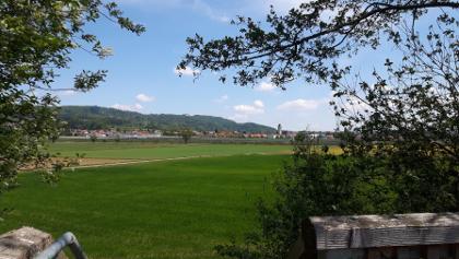 Ausblick vom Aussichtstrum nach Frickingen und Heiligenberg