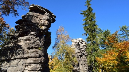 Greifensteine im Herbst