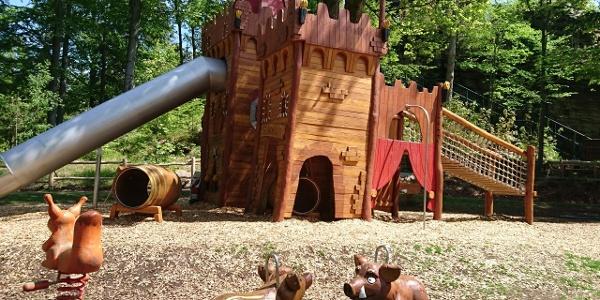 Abenteuerspielplatz an den Greifensteinen