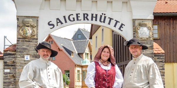 Die Saigerhütte Olbernhau-Grünthal