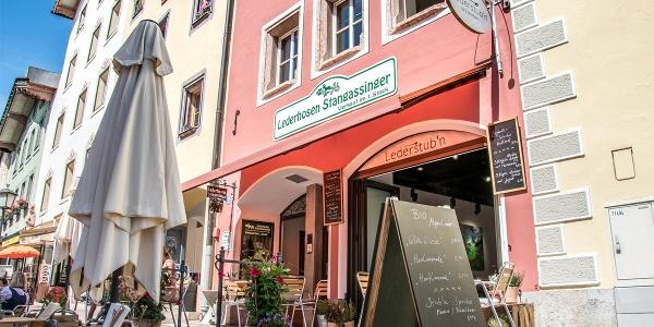 Die Lederstub'n im historischen Zentrum Berchtesgadens