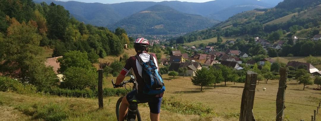 VTT en Alsace
