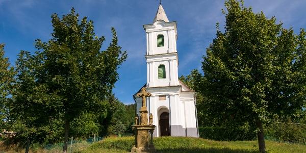 A Szent Donát-kápolna Zalaszántón