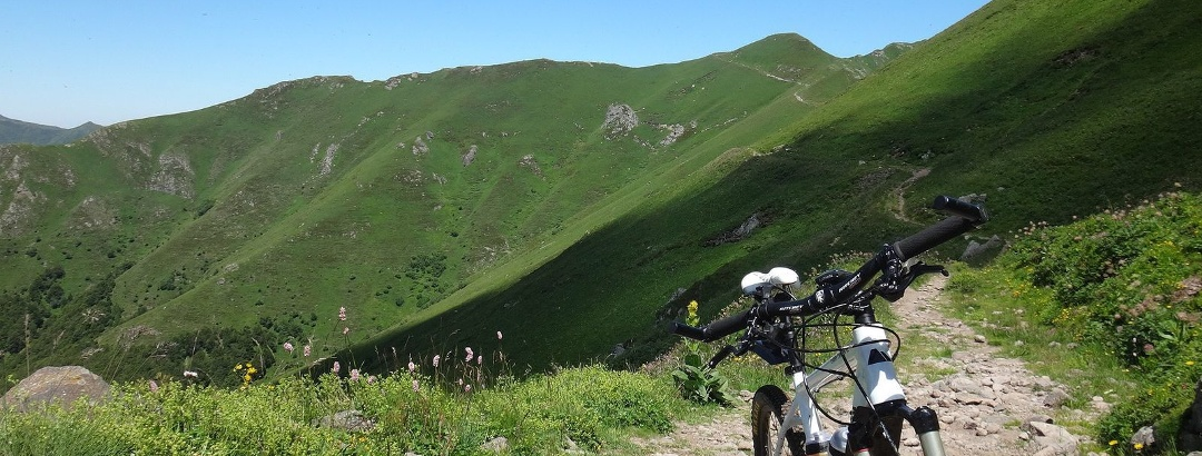 Rando VTT sur le plomb du Cantal