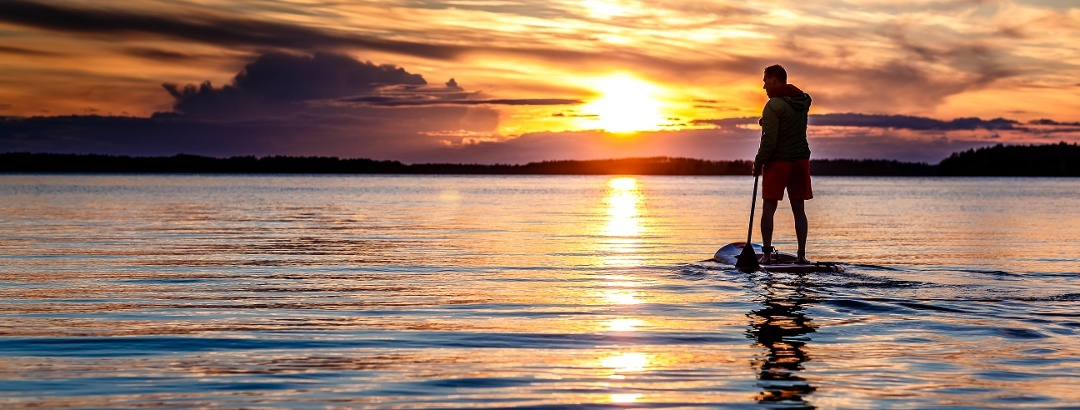Sunset in Saimaa