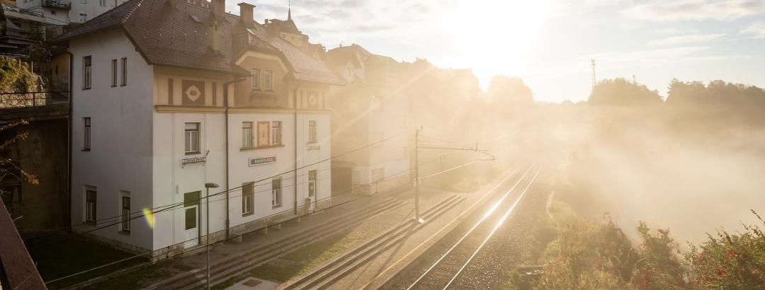 Train Station Radovljica