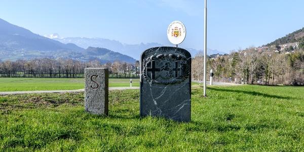 Balzers Grenzstein