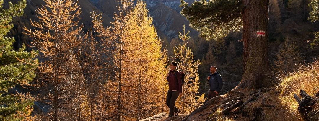 high trail in Val Trupchun