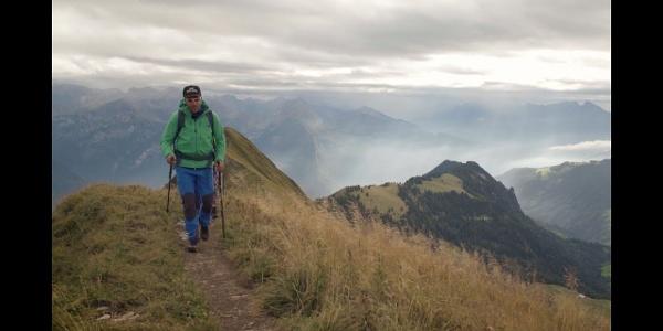 Trekkingtour über den Hardergrat | Wandertipps von Schöffel und Lowa