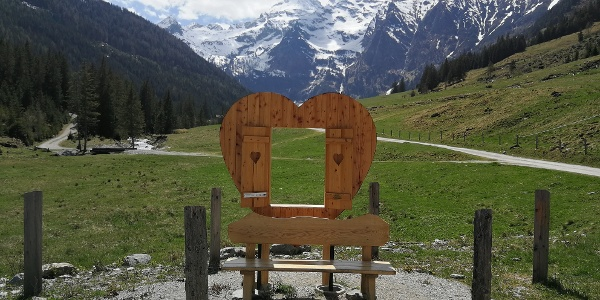 Sattental  - Zufahrt zum Parkplatz auf 1.300 m nach der Wintersperre erst ab 01. Mai möglich!