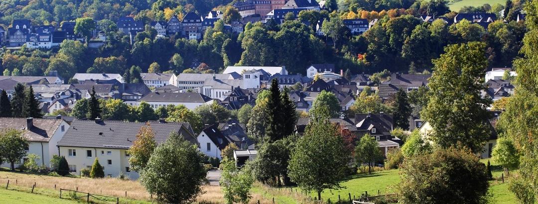 Blick auf Schloss Berleburg