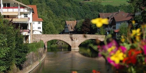 Hirschbrücke in Wildberg
