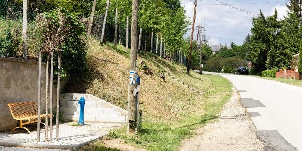 Az Országos Kéktúra bakonynánai pecsételőhelye  (OKTPH_44)