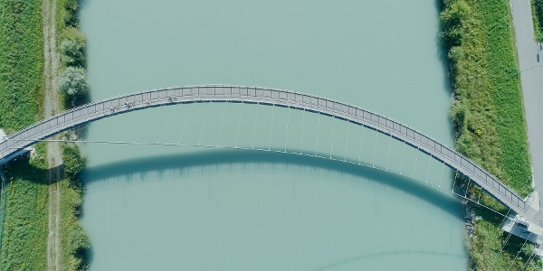 Drauradweg/Radbrücke Puch-Weissenstein