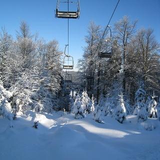 Panorama Skigebiet Rehefeld-Zaunhaus