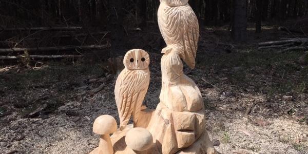 Holzfiguren von Lutz Jungnickel