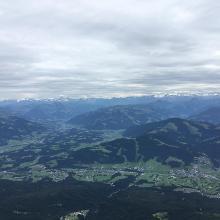 Blick von Gipfel
